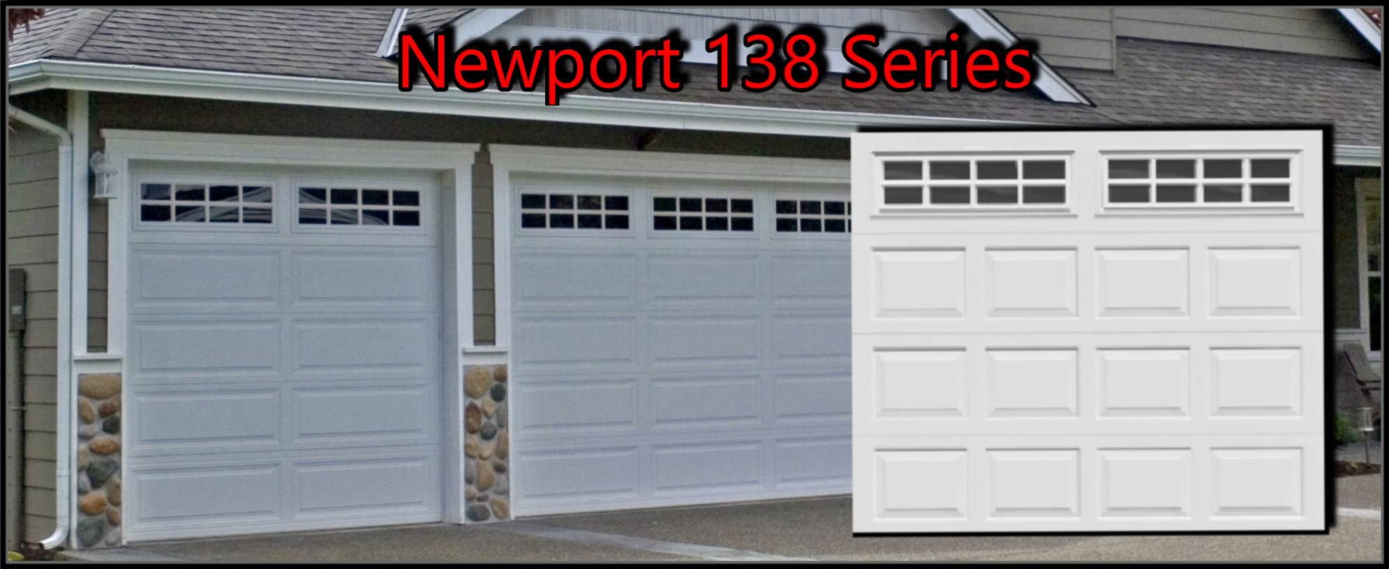 Newport 138 Garage Door